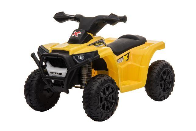 Mini ATV electric pentru copii BJ116 35W STANDARD #Galben