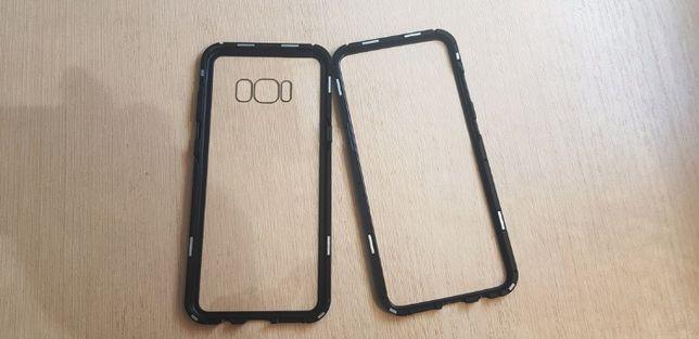 Магнитный металлический чехол для Samsung Galaxy S8