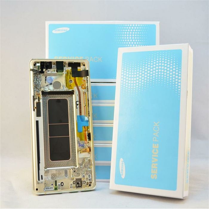 Display Samsung Note 8 original AMOLEDfactură garantie Montaj pe loc Bucuresti - imagine 1