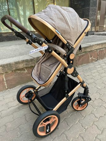 Детская коляска трансформер 2 в 1 Teknum TK 598x2 доставка Алматы КЗ б