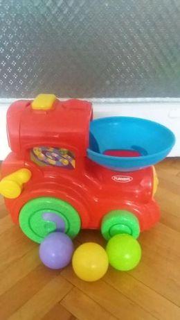 Locomotiva cu bile Playskool