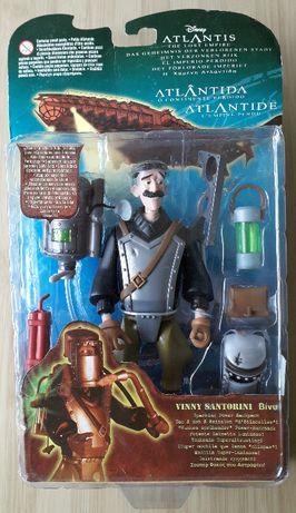"""Figurine de colectie Disney Atlantis """"Vinny Santorini"""" Mattel ani 2000"""