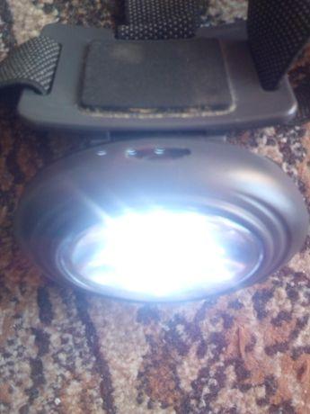 Lanterna led, de pus pe cap