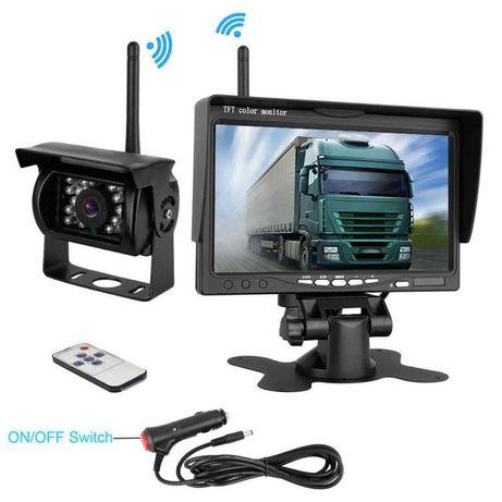 Безжична система за паркиране камера задно виждане камион парктроник