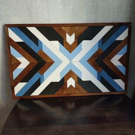 Картина из дерева - Скандинавское панно.