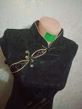 Платье,сшито на заказ.В китайском стиле.р айон Евразии