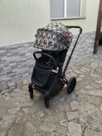 Уникална Бебешка количка Cybex PRIAM Butterfly