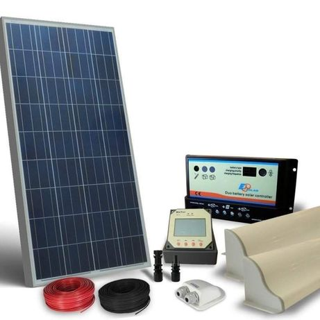 Kit curent electric panouri solare 300W  + regulator Ofer Montaj 5