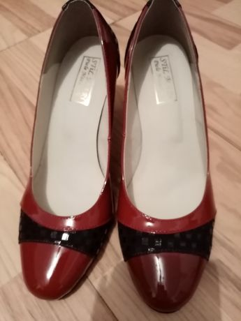 Pantofi din piele eleganti