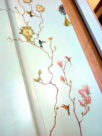 Перекраска, декорирование, роспись и реставрация мебели