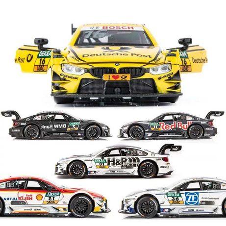 Машинка металлическая DTM BMW M4. Машинки игрушки БМВ.
