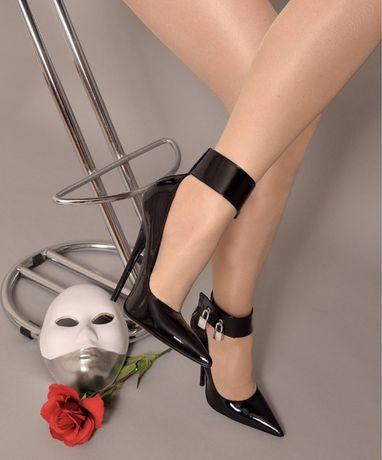 Pantofi piele toc 15 cm