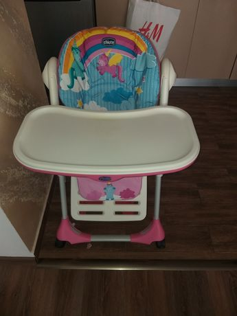 Vînd scaun pentru copii,chicco unicorn