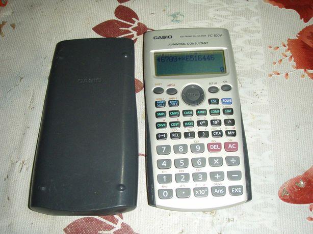 Calculator stiintific Casio FC-100V Financial Consultant