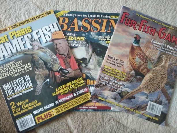 Журналы на англ языке. Охота и рыбалка все за 1000