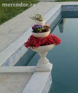 Ghiveci flori triplu-etajat