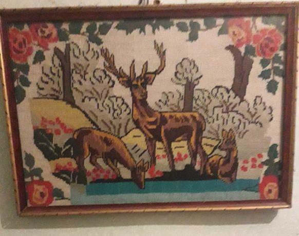 Carpete si tablouri vechi