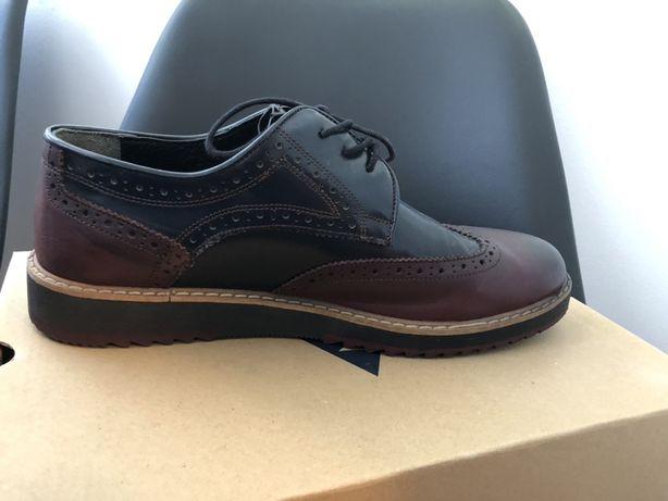 Pantofi piele barbati Suvari, marimea 42-42,5