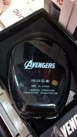 Baterie externa cu-Spiderman -12000 mAh
