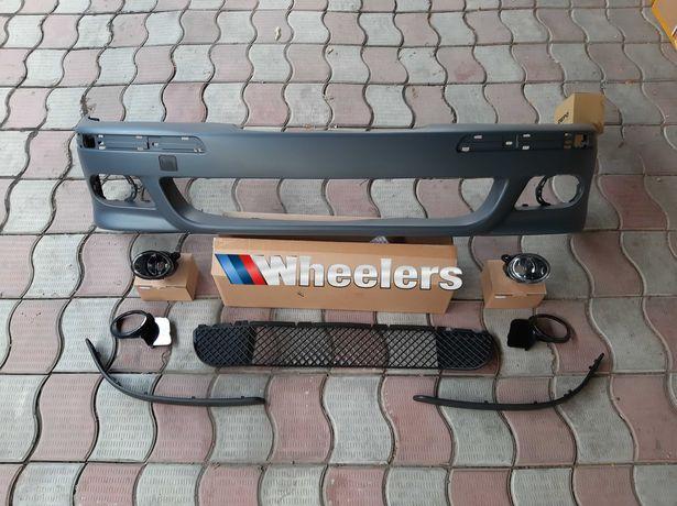 М бампер БМВ Е39 М5 локеры туманки решетки обвес BMW E39 M