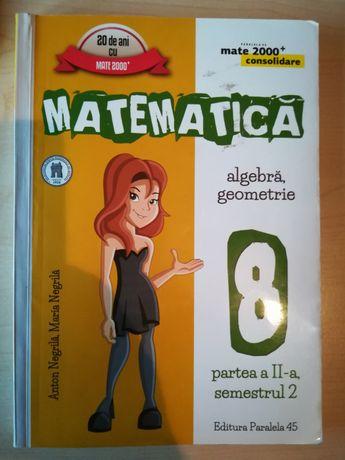 Matematica algebra geometrie partea a doua, semestrul 2