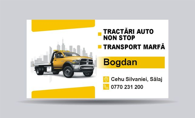 Tractari Non Stop/transport marfa(platforma,trailer)Închiriez trailer