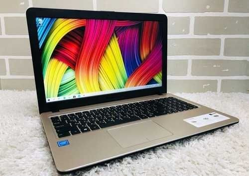 ASUS VivoBook Intel 4-х ядерный(оперативная 4гб, память 500гб).