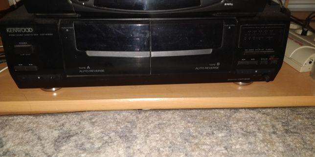 Dublu Deck/casetofon Kenwood KR-w3030