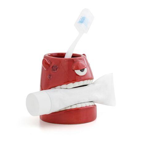 Органайзер за четка за зъби и паста - Чудовище