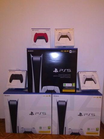 Sony Playstation 5 все версии джойстики геймпады
