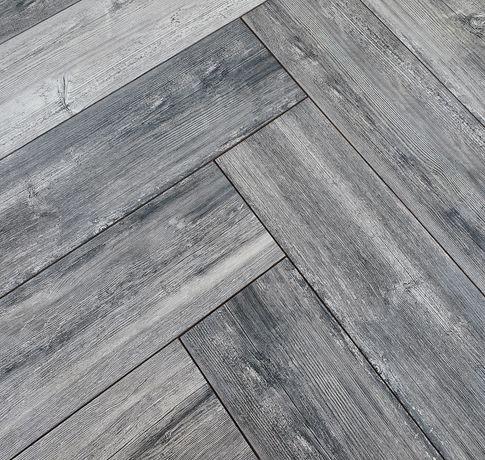 "Gresie portelanata tip parchet (imitatie lemn), 15x60 ""Grey L"""
