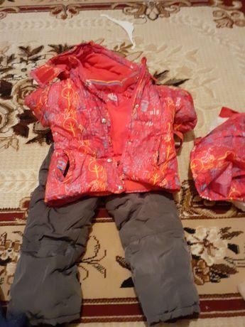 Комбинезон куртка для девочки