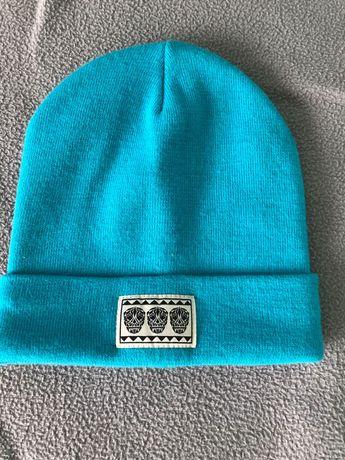 Нова Детска синя шапка