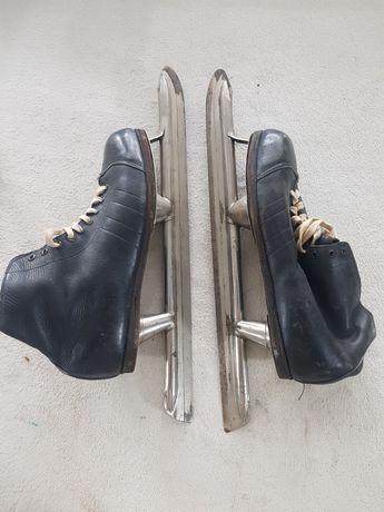 Коньки конькобежные советские