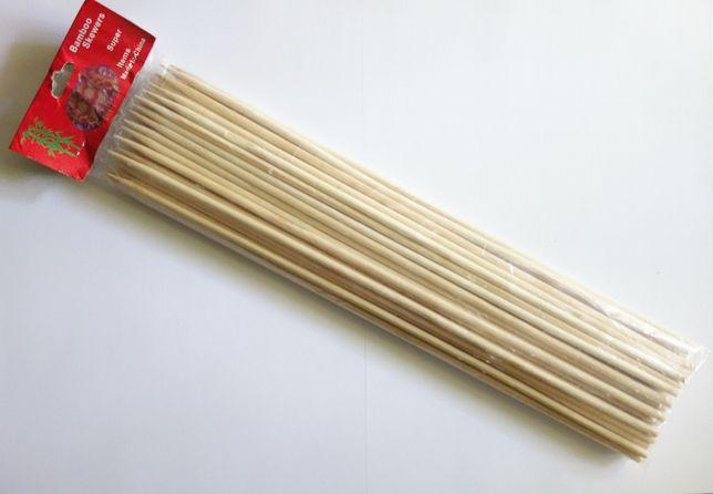 Bete de bambus 35cm x 5mm pentru cartofi spiralati Tornado Chips