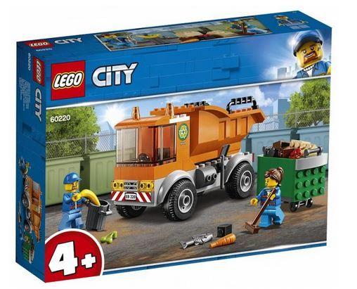 LEGO City Camion pentru gunoi 60220 -sigilat-Transport gratuit
