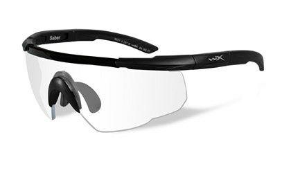 Ochelari tactici Wiley X Saber lentile clare, antispargere