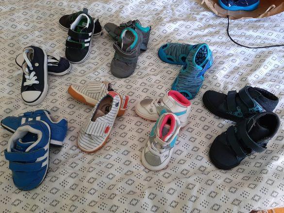 Детски обувки различни размери