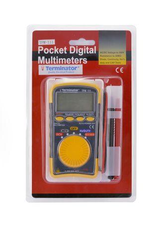 Маленький мини карманный цифровой мультиметр TPM 111