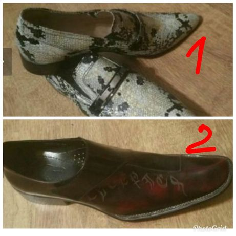 Луксозни обувки от естествена кожа