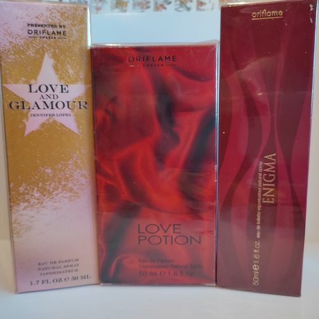 Oriflame Enigma * Love potion * Love and glamour * So fever together