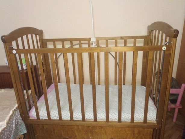 Комод детский+кроватка