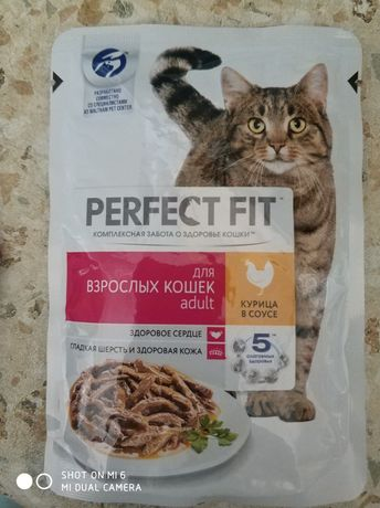 Мокрый корм для кошек
