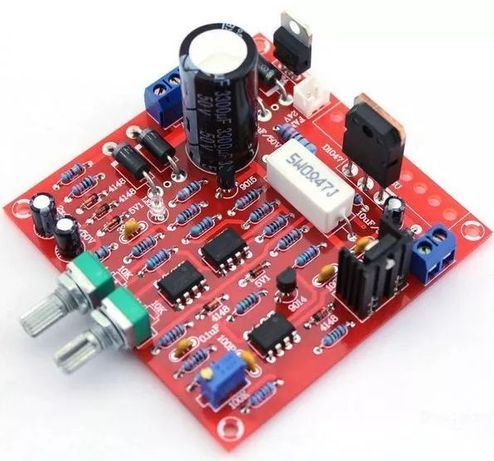 Kit sursa laborator stabilizata max 3A/30 V curent/tensiune reglabile