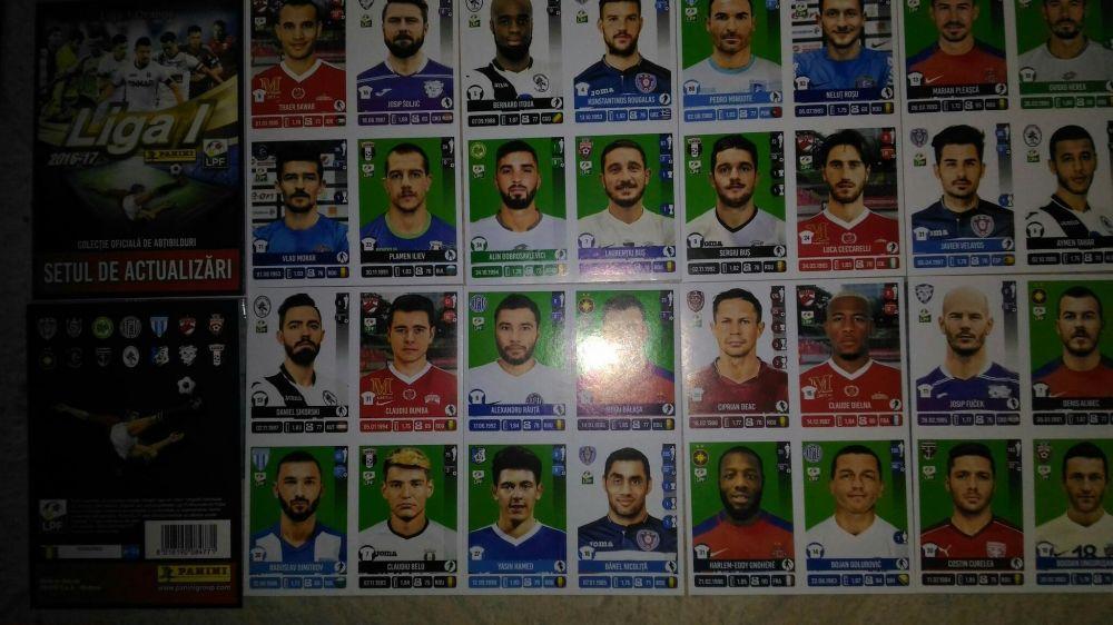 Panini liga 1 setul de actualizari pt album 2016 update extra stickere