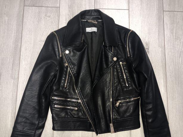 Кожаная куртка косуха Motivi новая