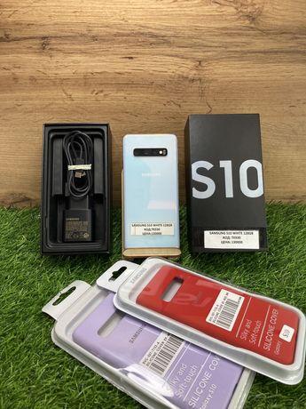 SAMSUNG S10 white 128Gb