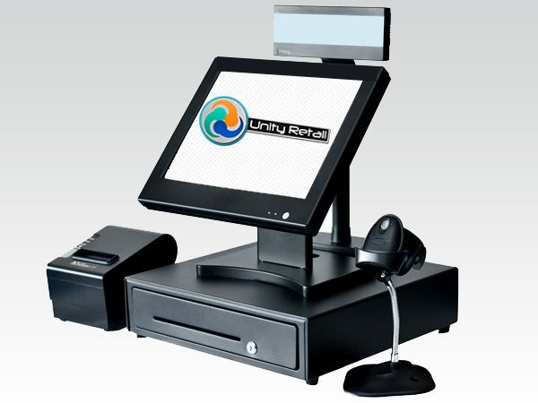 Sistem POS Touch Magazin Pachet Echipament Software Vanzare Gestiune