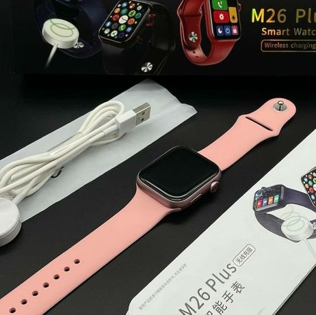 Смарт умные часы watch 6 давление пульс M26plus
