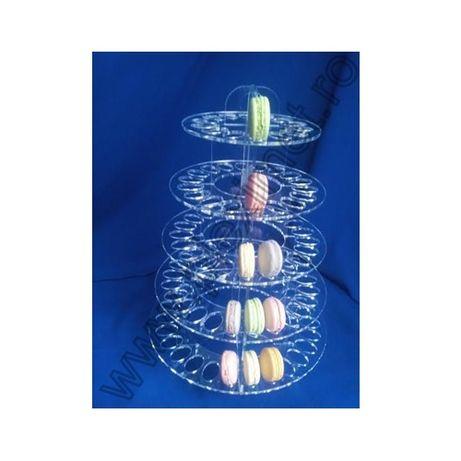 Suport macarons si cake-pops pentru candy-bar